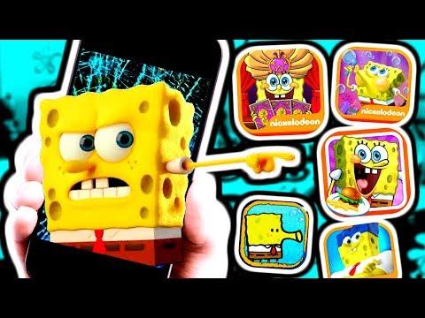 SPONGEBOB IPHONE GAMES!