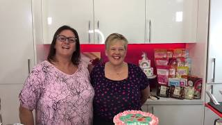 Karen Griffiths   Valentine's Themed Cake   Fb Live 23/01/2020