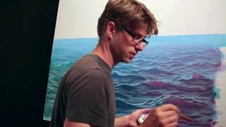 How To Paint Waves - Lesson 3 - Wet On Dry