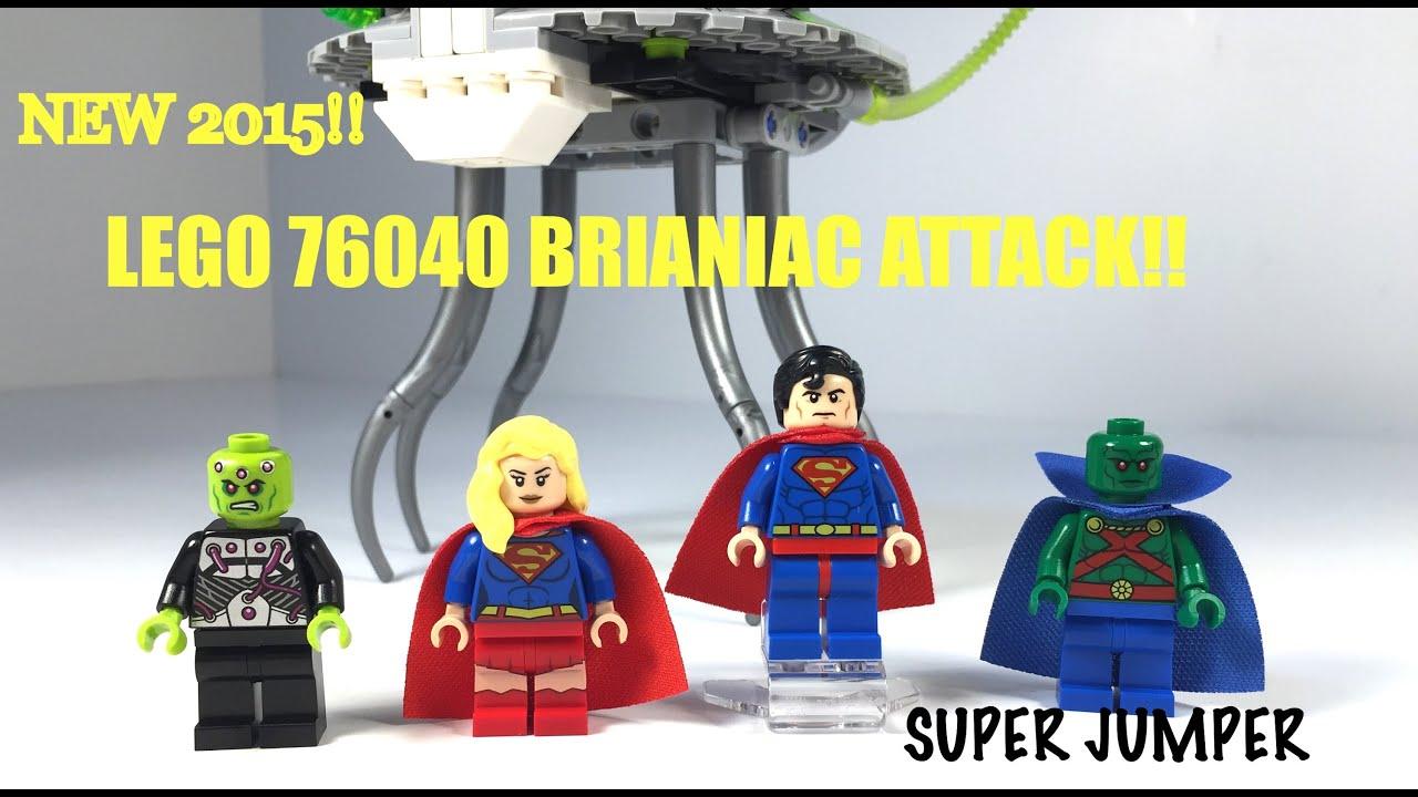 NEW 2015! LEGO DC 76040 Brainiac Attack! Justice League