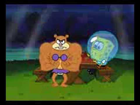 Spongebob Sandy Cheeks Muscle 2 - YouTube