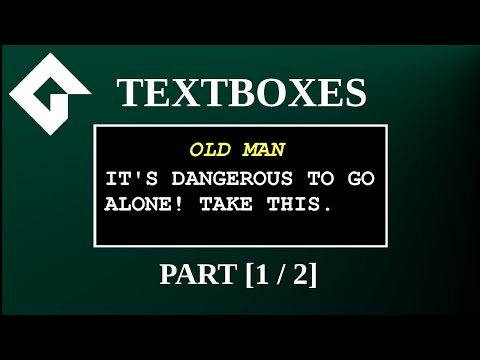Textbox Tutorial: Game Maker Studio 2 [1/2]