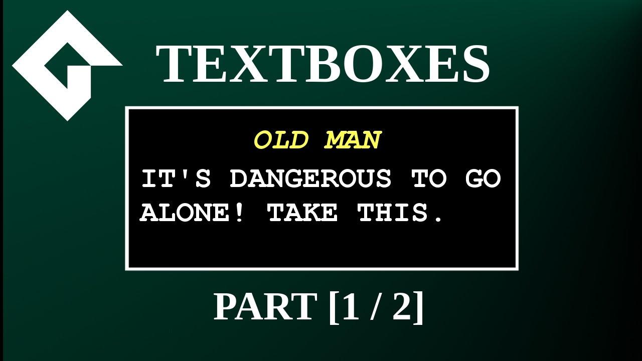 Textbox Tutorial: Game Maker Studio 2 [1/2]