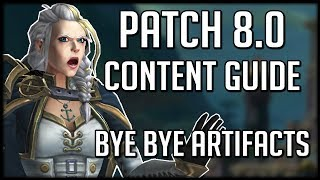 BFA Prepatch (Patch 8.0) Content Guide - All You Need To Know! | WoW Battle for Azeroth