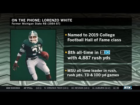 Lorenzo White Interview | Michigan State Football