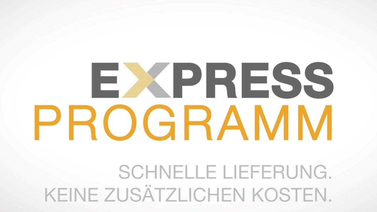 Neues Express Programm
