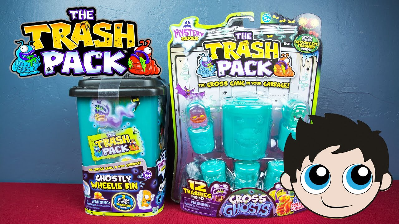The Trash Pack Mystery Series with Gross Ghosts Unboxing  Kinder