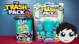 The Trash Pack Mystery Series with Gross Ghosts Unboxing! - Kinder Playtime