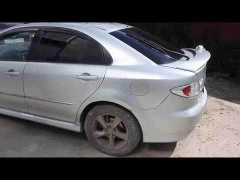 Mazda 6 Atenza гнилые арки, покраска крыльев и порогов.