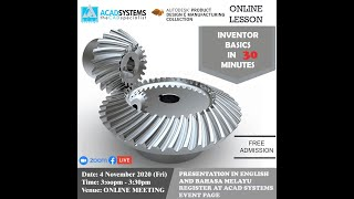 Inventor Basics in 30 minutes by Acad Systems Sdn. Bhd. screenshot 4
