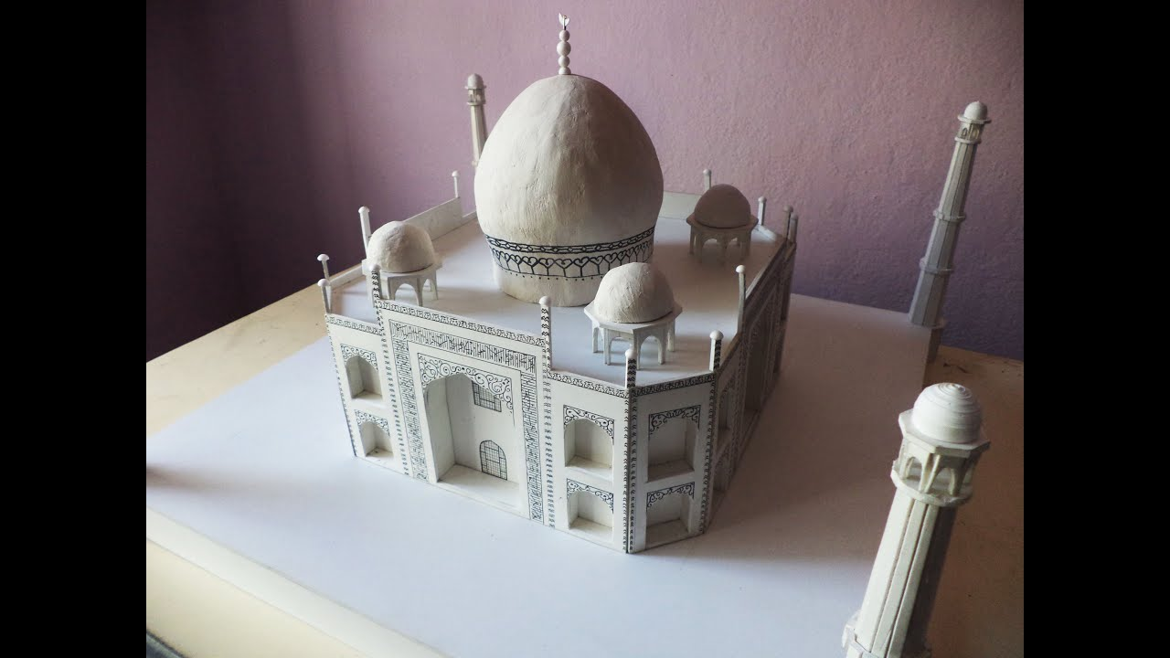 Teaser How To Make A Model Of Taj Mahal Architecture