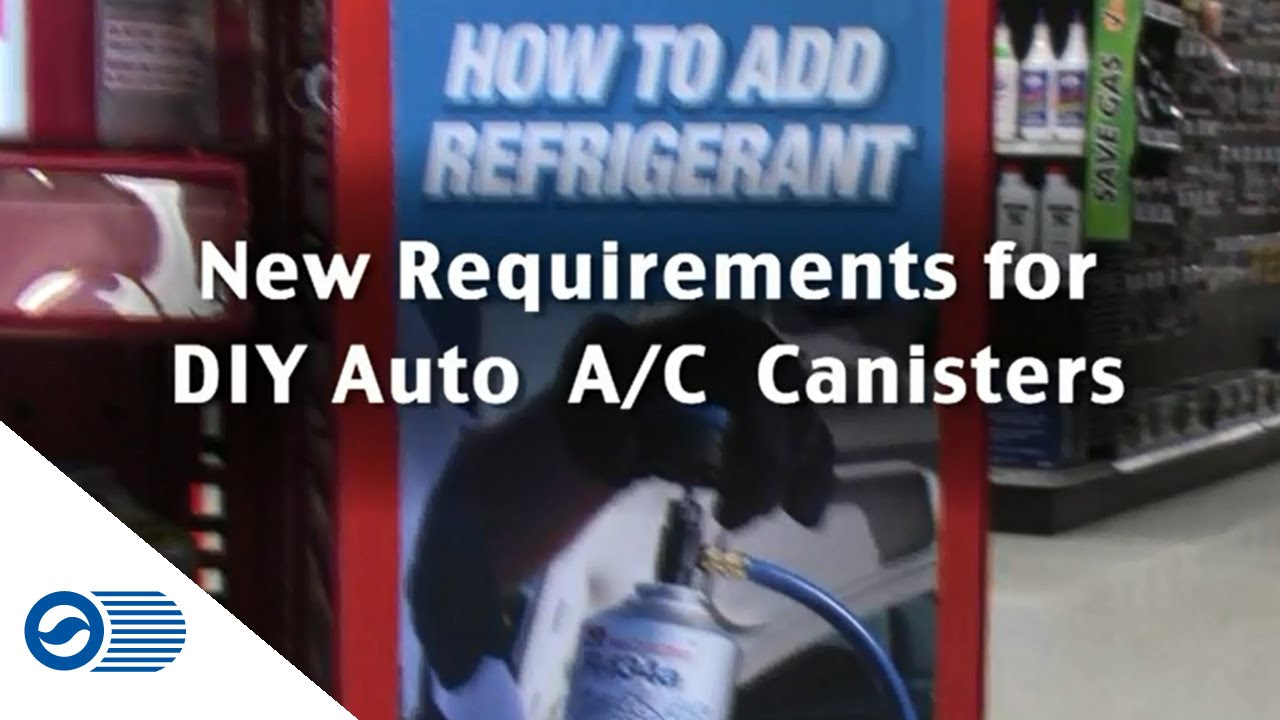 Regulation for Small Containers of Automotive Refrigerant