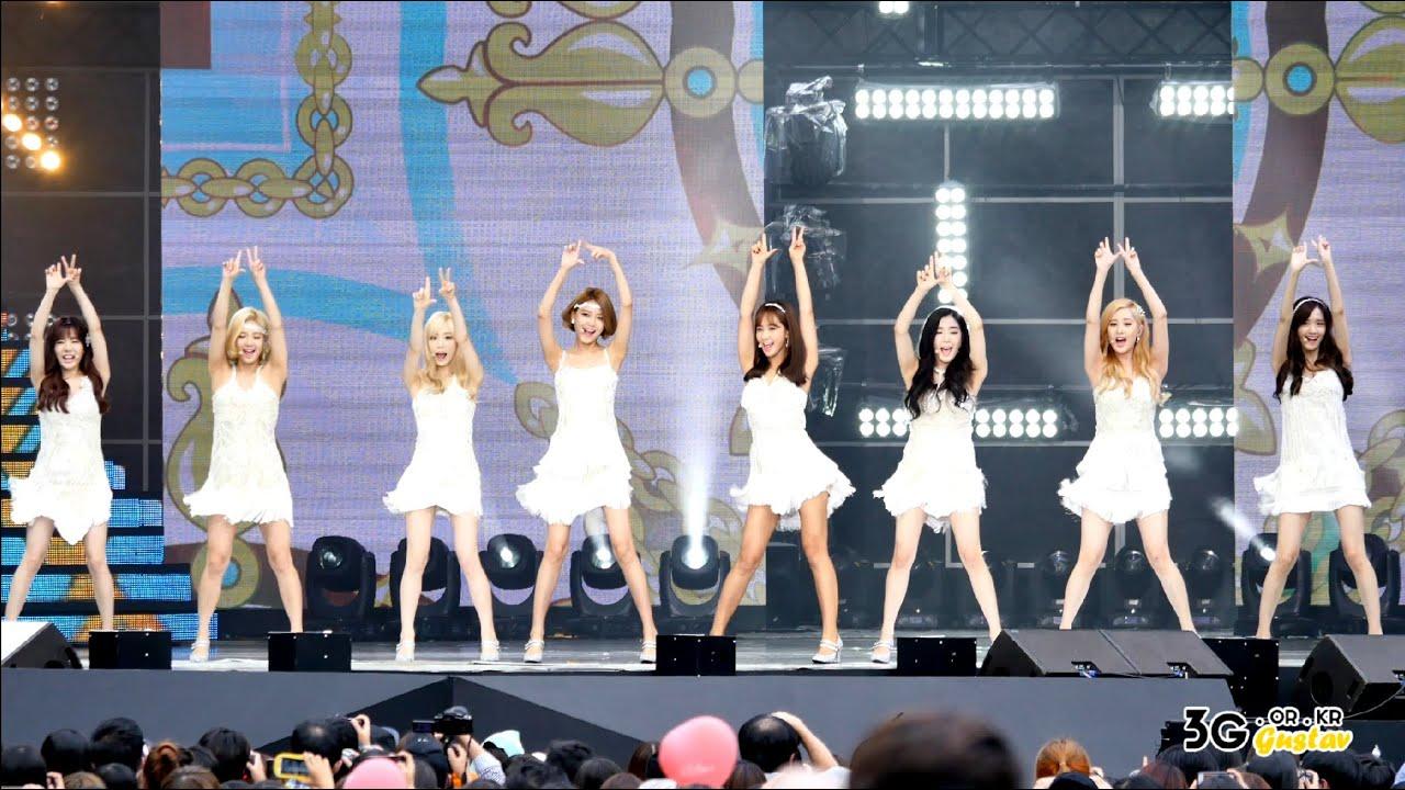 Download [직캠/FANCAM] 150912 소녀시대(SNSD) 라이언하트 (Lion Heart). 지 (Gee) @ MBC 음악중심