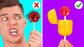 ULTIMATE FOOD HACKS AND FUNNY TRICKS || Fast Weird Ways To Eat And TikTok DIY Ideas By 123 GO! BOYS