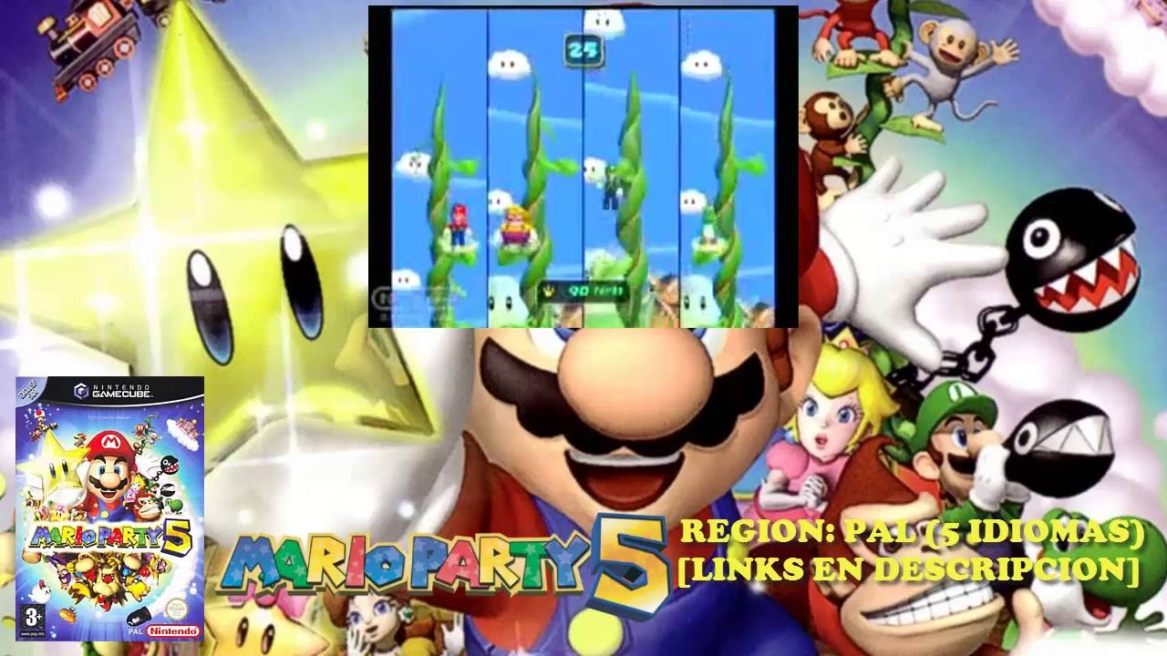 [NGC] Mario Party 5【ISO PAL 5 IDIOMAS】(MEGA)