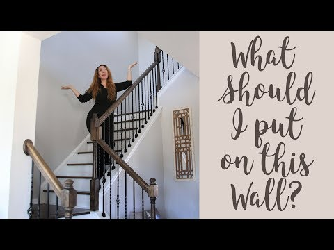 Help me Decorate my Stair Case Wall-I Need Stairway Wall Layout and DIY Ideas!