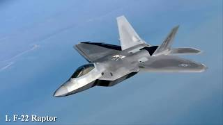 Top 10 Fighters Jets In The World 2018 | Top 10 Worlds
