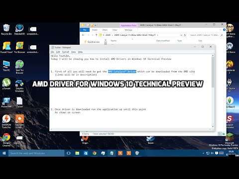 Install/Update AMD Catalyst Driver | Windows 10 (Black Screen Fix)