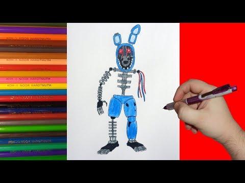 Как нарисовать аниматроников видео