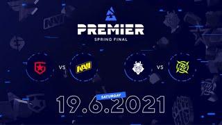 Gambit vs NAVI, G2 vs NIP | BLAST Premier Spring Final Day 5