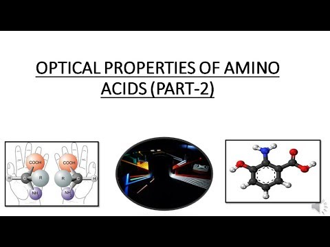OPTICAL PROPERTIES OF AMINO ACIDS PART-2| MEASURING OPTICAL ACTIVITY OF AMINO ACIDS