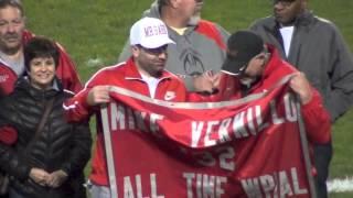 2013 All Time Leading Rusher Banner Retirement - #32 Mike Vernillo Fort Cherry