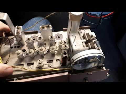 "Philips ""Continental"" B3Z75U AC/DC 1960s Valve Radio Part 2"