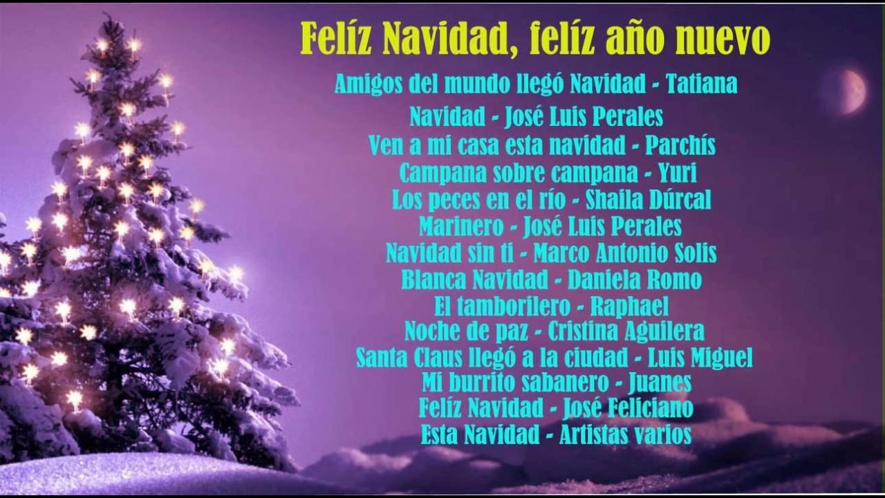 Villancico de feliz ano nuevo feliz navidad