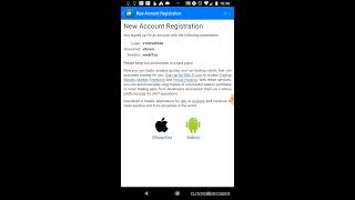 How to open a Demo account using MetaTrader 4 app and JAFX-Demo3 server (Android Only)