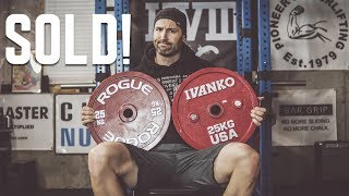 Picking Plates - Why I Sold My Rogue Competition Plates