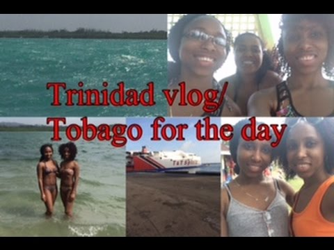 Trinidad Vlog Day 4 || Tobago for the day