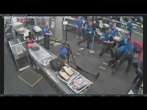 Surveillance video: 19-year-old attacked TSA screeners at Sky Harbor