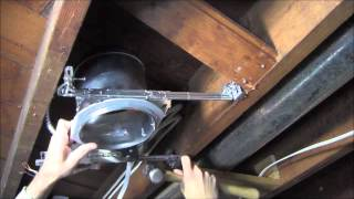 RicksDIY Recessed Lighting DIY Tutorial Wiring.wmv