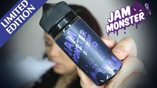 blackberry Jam E Liquid by Jam Monster Liquids Review