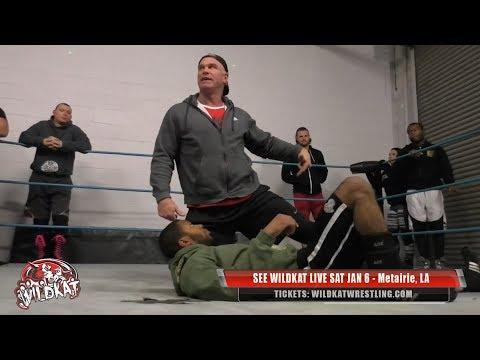 Training w/ Billy Gunn (Pro Wrestling Seminar at Wildkat in New Orleans