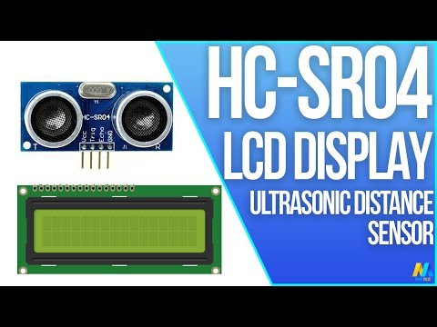 Arduino Tutorial - Ultrasonic Sensor HC-SR04 with LCD Display | Mert Arduino and Tech
