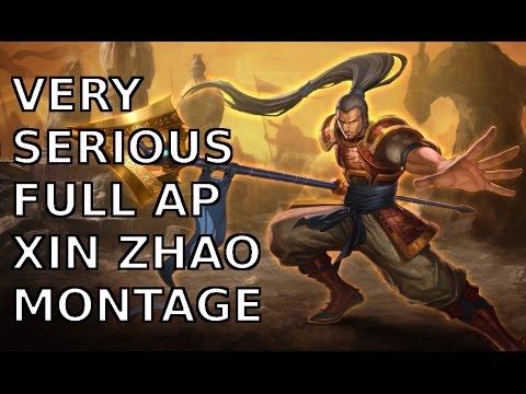 Sức mạnh khủng khiếp của Thánh Thông Xinzhao lên Full AP mùa 5
