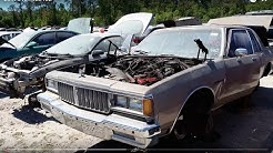 1984 Pontiac Parisienne at ACE Pick-A-Part junkyard in Jacksonville, FL