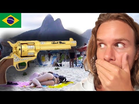 Waking Up From Gunshots In Rio | Travel Vlog | St. Fairhair in Brazil