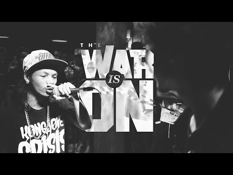 THE WAR IS ON EP.7 - MC.KING VS LARKIE | RAP IS NOW