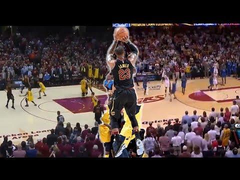 LeBron James GAME WINNER vs Pacers 2018 and vs Magic 2009 | Same Spot Same Result