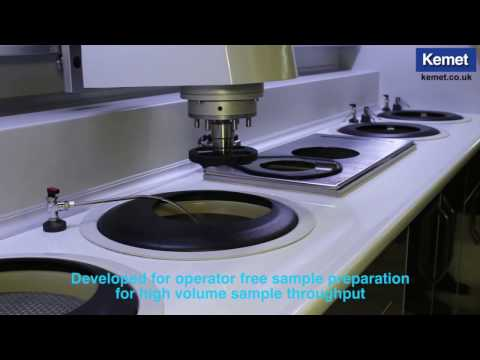 Grinding & Polishing System For Sample Preparation
