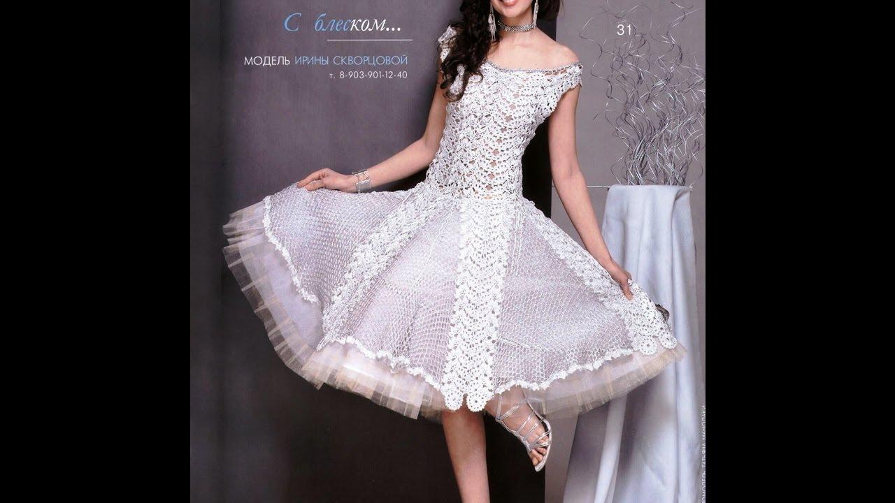 Crochet Patterns For Free Crochet Wedding Dress 1784 Youtube
