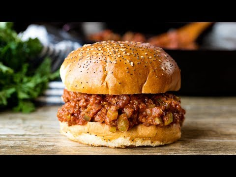 How To Make The Best Homemade Sloppy Joes