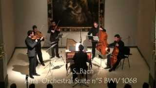 J.S. Bach. Aria 3rd Orchestral Suite BWV 1068