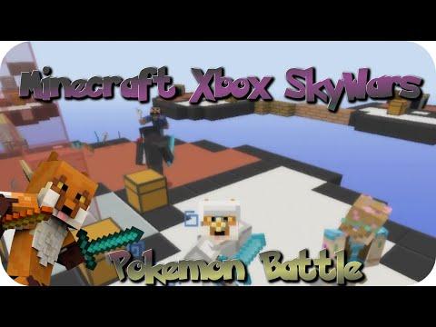 Minecraft Xbox SkyWars - Pokemon Battle
