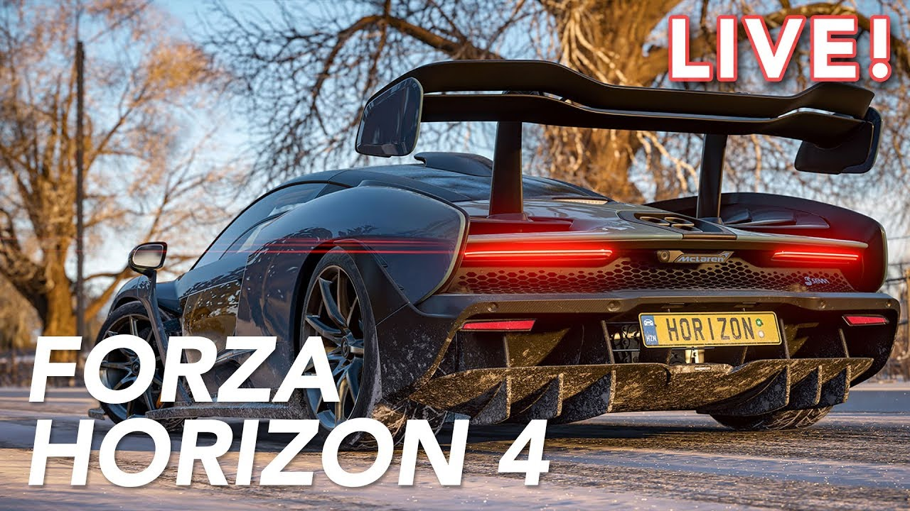 We Played Forza Horizon 4 (with Jalopnik)