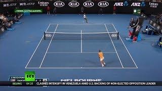Nadal Advances, Tsitsipas Makes Grand Slam History