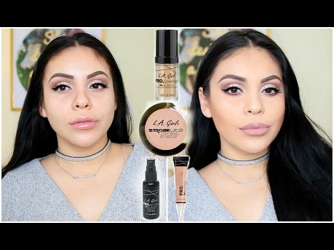 L.A. Girl First Impressions: Pro HD Foundation, Pro Corrector + More! | JuicyJas