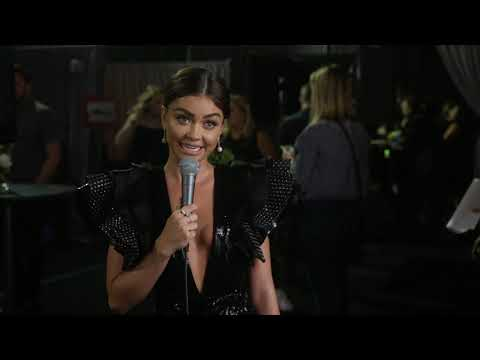 Sarah Hyland Interview at CMT Music Awards